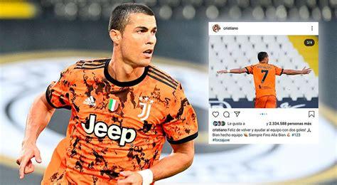 Siempre hasta el final: el mensaje de Cristiano Ronaldo ...