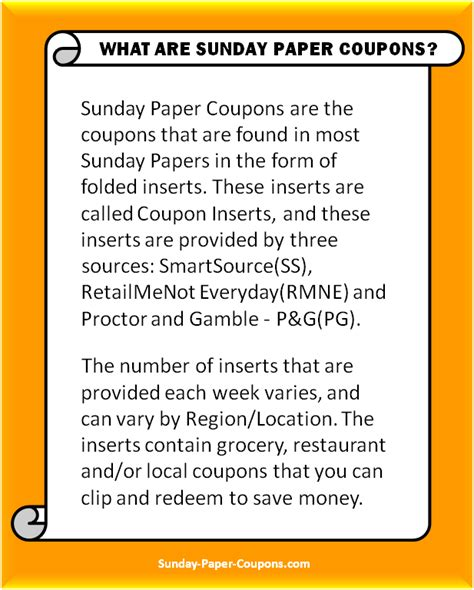 19933 Redplum Coupons Sunday Paper by Sunday Paper Coupons Inserts Free Coupons