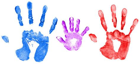 handprint stock  pictures royalty
