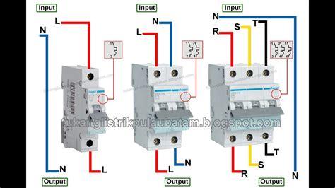 cara mudah memasang mcb listrik