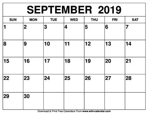 sept calendar printable isacl