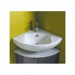 Lavabo D Angle Salle De Bain : lavabo d angle salle de bain comparer 113 offres ~ Nature-et-papiers.com Idées de Décoration