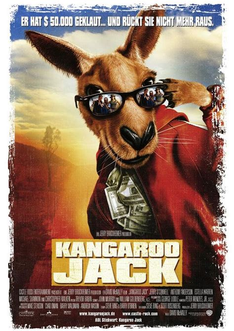 kangaroo jack  poster    imp awards