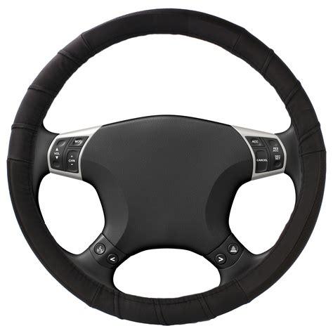Steering Wheel by Leather Steering Wheel Cover Large 14 5 15 5 Trucks Cars