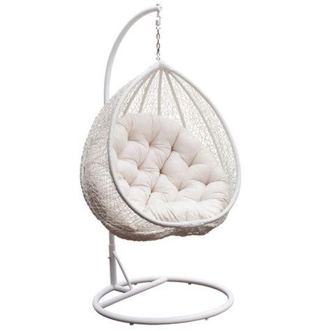 milan direct pe rattan hanging egg pod chair reviews