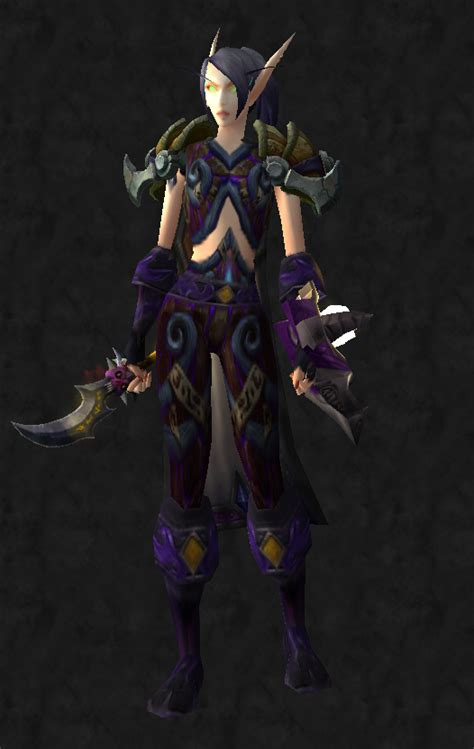 transmog rogue purple horde diamonds obsidian dark phoenix