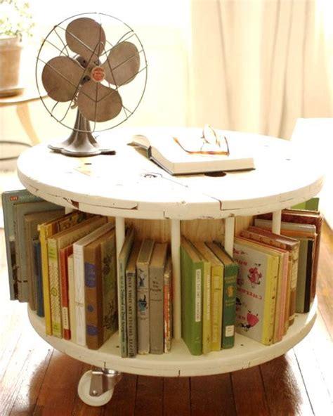 reciclar carretes o bobinas de cable muebles reciclados objectbis diseño ecológico creativo
