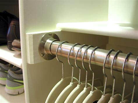 closet closet rod bracket   organizer installation