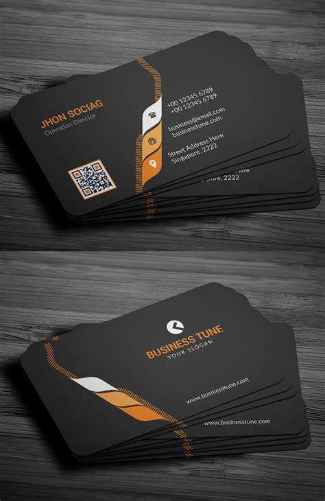 modern business cards psd templates print ready