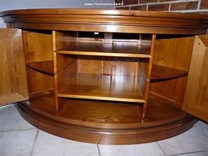 Meuble Tv En Coin : meuble d 39 angle tv meuble de t l vision merisier de coin ~ Teatrodelosmanantiales.com Idées de Décoration