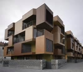 Simple Architectural Designs For Apartments Ideas by Tetris Exterior Apartment Building Design Model Arch