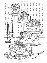 Coloring Desserts Pages Haven Creative Designer Colouring Printable Sheets Books Adult Mandala Eileen Popular sketch template