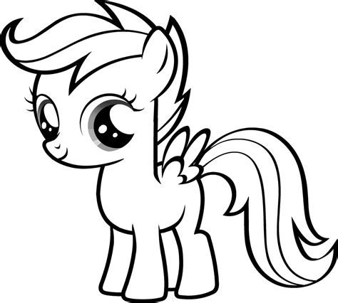 Coloring My Pony by My Pony Coloring Pages 360coloringpages