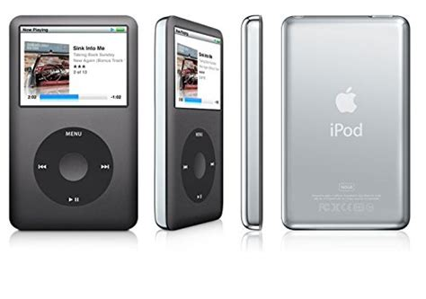 ipod classic 160gb apple mc297ll a ipod classic mp3 mp4 player 160gb black 7th generation discontinued by