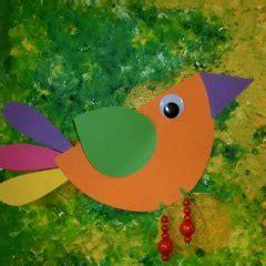 vogel basteln aus papier vogel spezial im kidsweb de