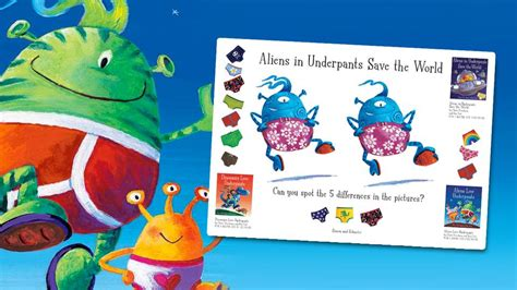 nursery amp pre school resources world book day 919 | Nursery Make and Do Underpants Books Spot The Difference