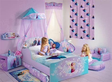 chambre reine des neiges rideaux chambre fille