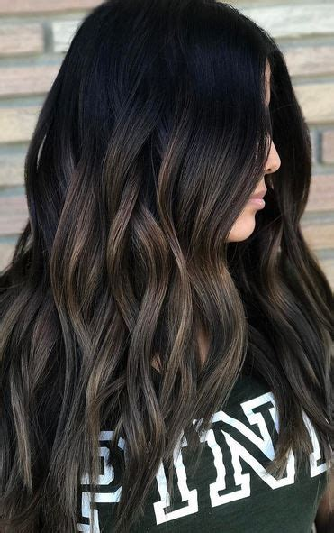 hair color ideas  brunettes  fall winter summer