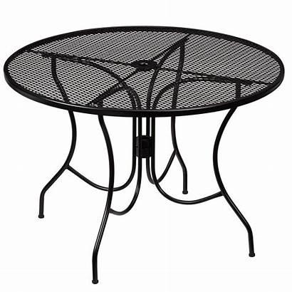 Patio Dining Hampton Table Metal Round Tables