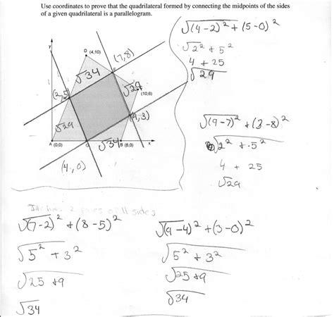 grade  math worksheets quadrilaterals