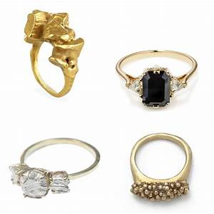roundup indie engagement rings from east side bride With indie wedding rings