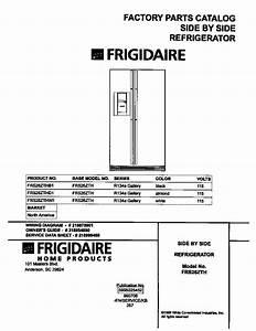Frigidaire Frigidaire  Sxs Refrigerator