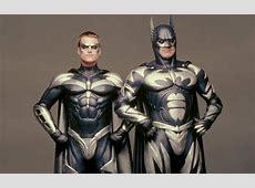 Image Batman & Robin Batman and Robin Silver suits