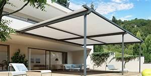 Protection Soleil Terrasse : pergola stores pour terrasse protection solaire avec stobag ~ Nature-et-papiers.com Idées de Décoration