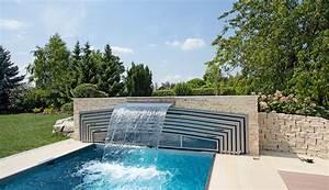 Pool Mit überdachung : garage mit wasserfall ~ Eleganceandgraceweddings.com Haus und Dekorationen