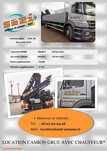 Camion Plateau Location : camion plateau grue avec chauffeur ~ Medecine-chirurgie-esthetiques.com Avis de Voitures