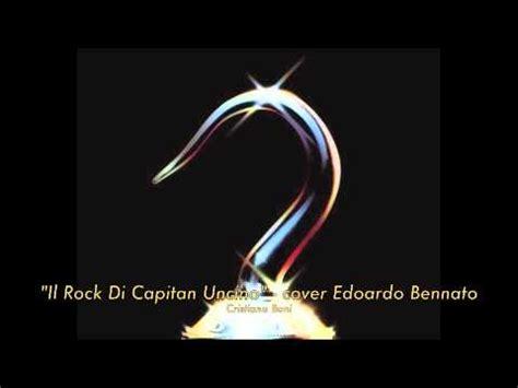 il rock capitano uncino testo cristiano boni quot il rock di capitan uncino quot cover