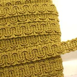 fabric farms interiors   gold scroll conso gimp