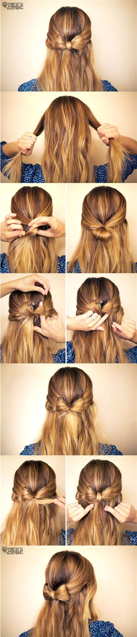 Step By Step Hairstyles For by Easy Step By Step Hairstyle Ideas Fashionsy