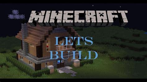 minecraft lets build medium sized house youtube