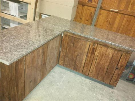 kitchen cabinets made out of pallets pallet kitchen counters with storage cabinets 101 pallets 9165