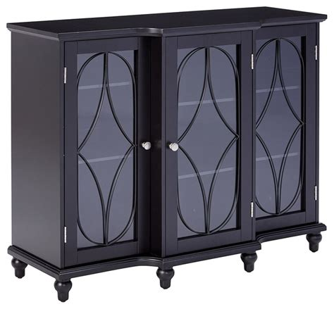 Black Buffet Table Sideboard by Wood Storage Sideboard Buffet Cabinet Console Table Black