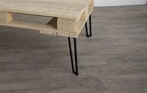 Pied De Table Basse Metal Industriel : pieds de table basse ~ Teatrodelosmanantiales.com Idées de Décoration