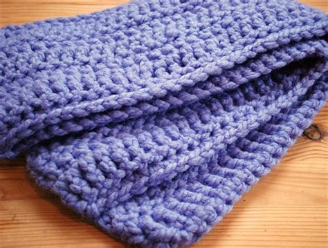 Simple Crochet Scarves - Erieairfair