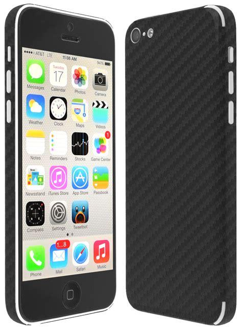 iphone 5c skins skinomi techskin apple iphone 5c carbon fiber skin protector