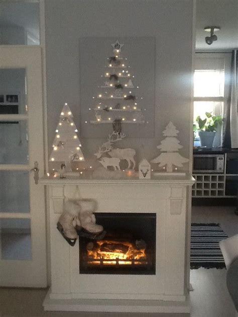 Schouw Kerstversiering by 25 Beste Idee 235 N Over Kerst Open Haard Op Pinterest