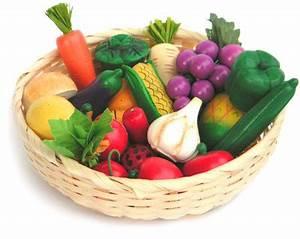 Obst Und Gemüsekorb : obst und gem se im korb in kaufmannsladen kaufladen zubeh r ~ Markanthonyermac.com Haus und Dekorationen