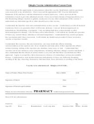 vaccine administration record  adults template