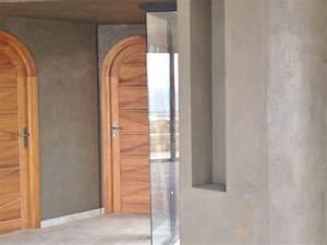 kit de beton cire pour sol et mur nuances minerales With peinture beton cire mur
