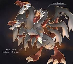 Mega Tyrantrum Pokemon Images | Pokemon Images