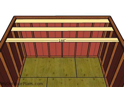 gambrel shed roof plans myoutdoorplans