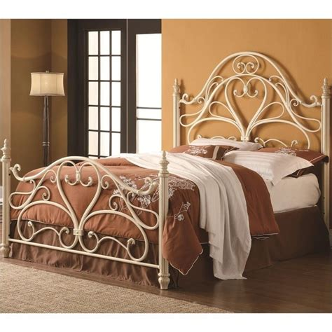 coaster queen ornate spindle headboard and footboard in