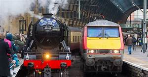 Flying Scotsman Forces Train Lines To Close As Trespassers