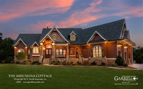 house plans amicalola cottage 12006 3572 garrell associates inc