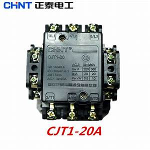 Aliexpress Com   Buy Chint Ac Contactor 380v 220v Cjt1 20a