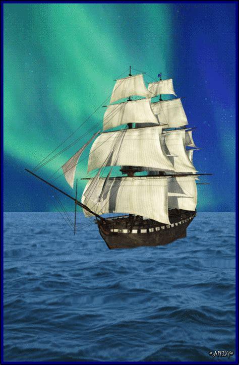 Gif De Barcos Animados by Gif Animados Andy Gif Animado De Paisaje Del Mar Con Un Barco